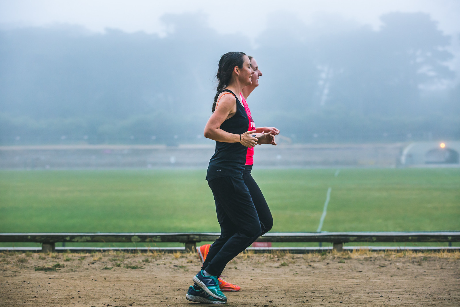train for your fastest mile in two weeks